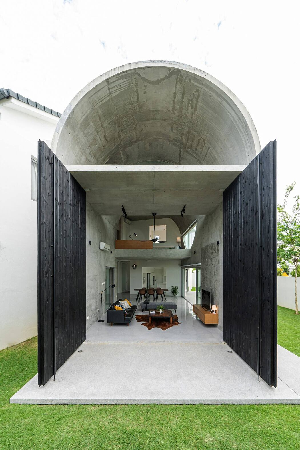 Bewboc House by Fabian Tan Architects