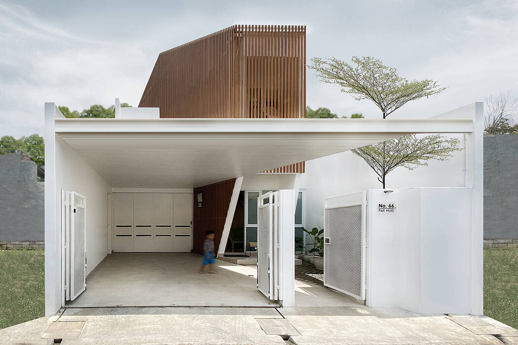 Parhuis House by Aaksen Responsible Aarchitecture