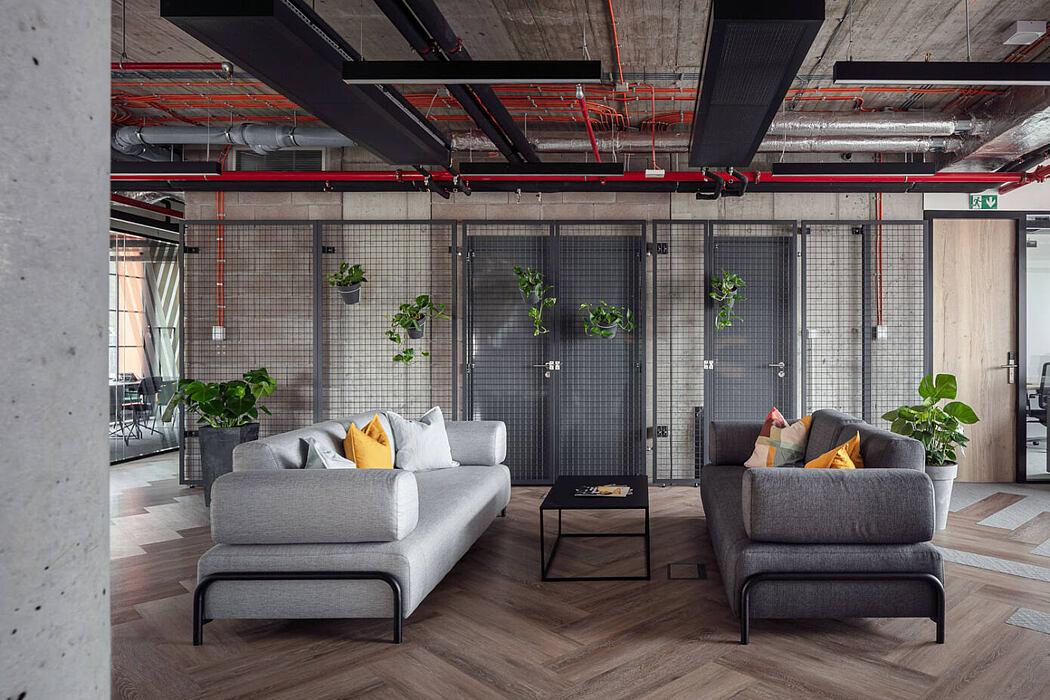 Praga Office & Garden by Klik Architekti Studio