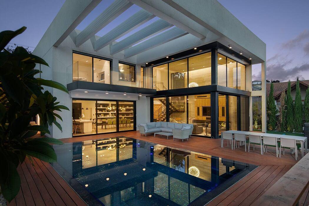 Youdim's House by Uri Ronen Architects Ura Studio