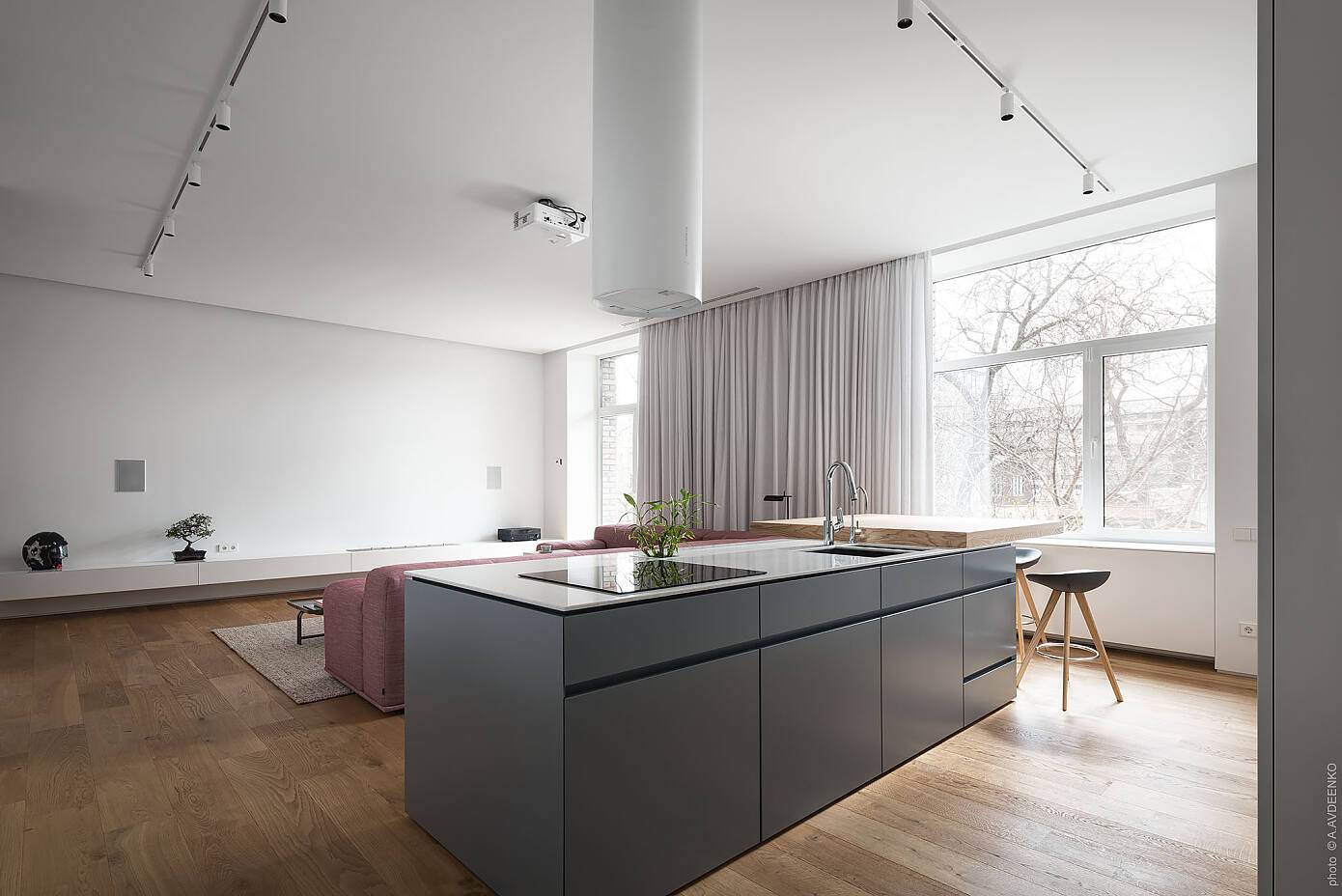 Apartment in Dnipro by Valentirov & Partners