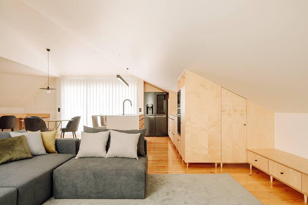 Apartment Casa do Arco by Arquitectura Viva