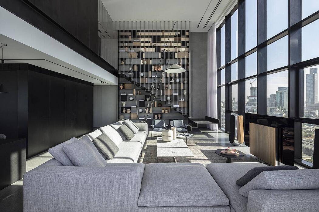 V Penthouse by Pitsou Kedem Architects