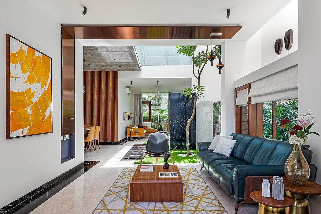 Floating Walls by Crest Architects