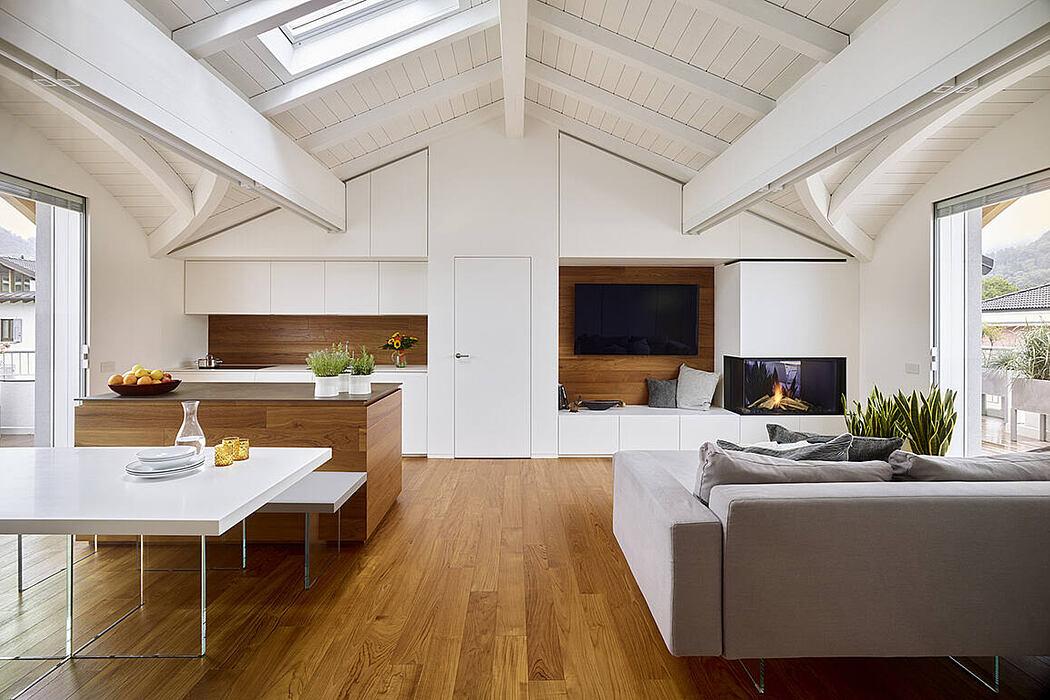 Apartment EB by Burnazzi Feltrin Architetti