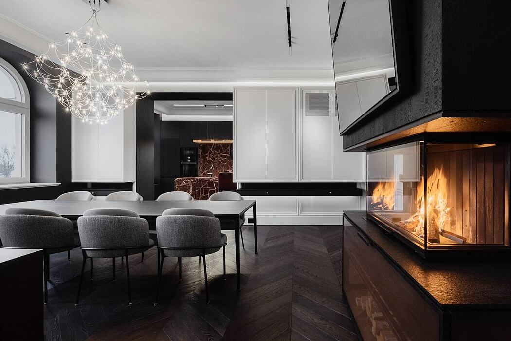 Gentlemen's Apartment by Open Ad Architects