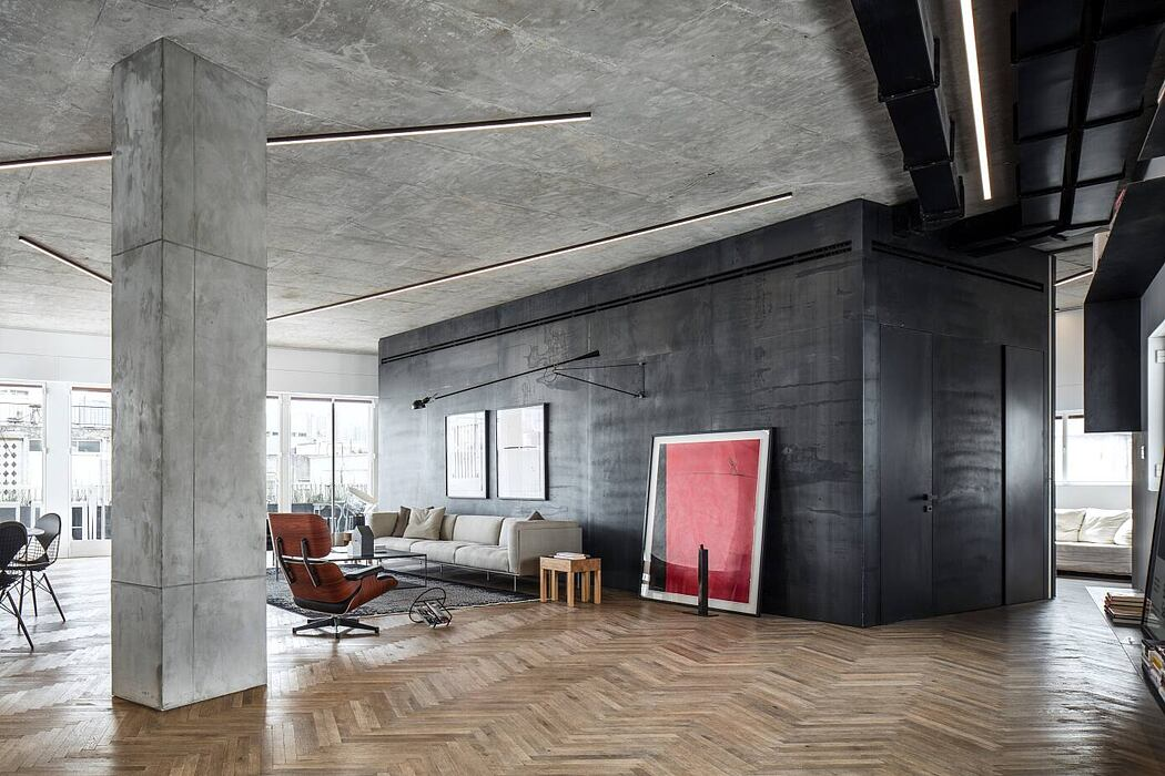 Bauhaus Loft by Axelrod Architects