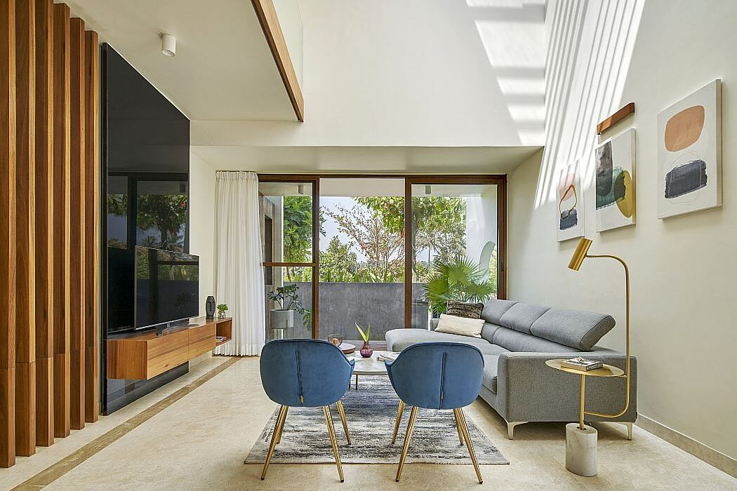 Framed House by Crest Architect