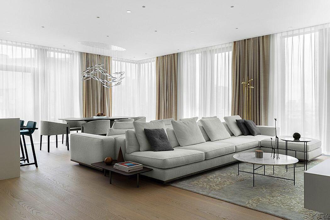 Vorobiev House Apartment by Kerimov Architects