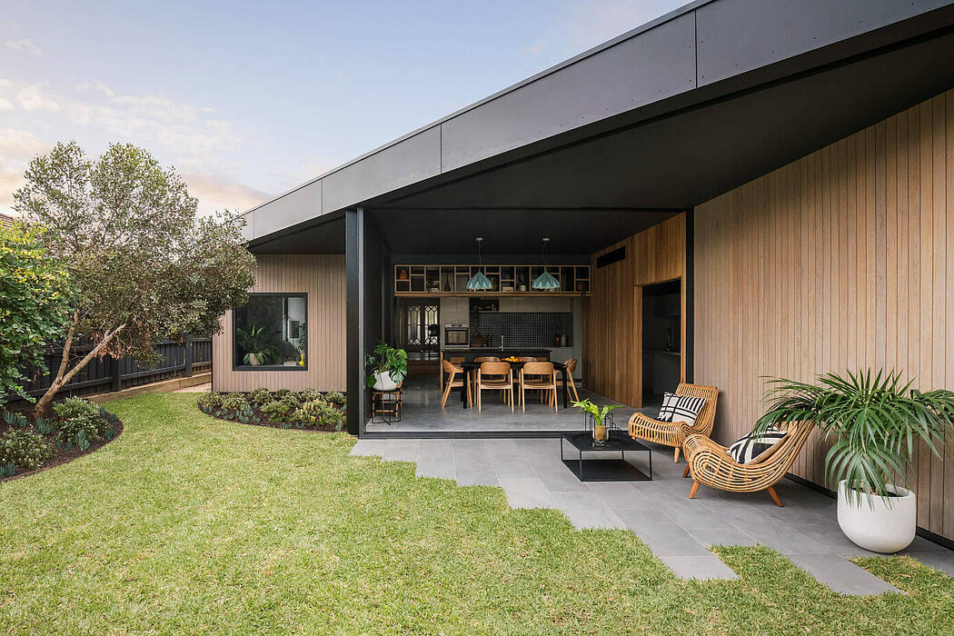 Bungalow 8 House by Splinter Society Architecture