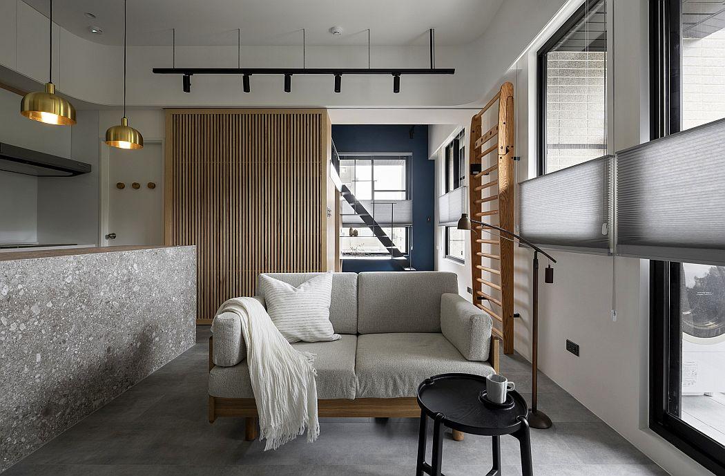 Eclectic | Navy Blue by AODA Interior design