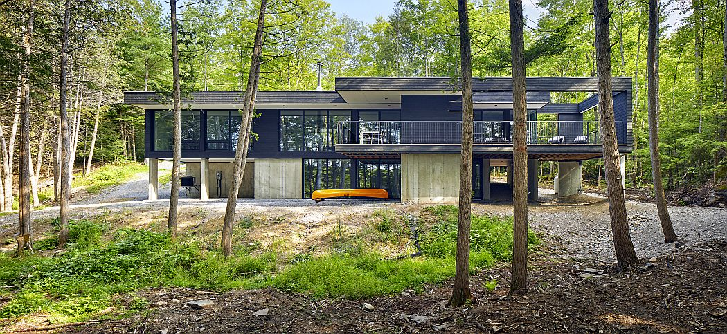 Kennebec Lakehouse by Zarafa Architecture