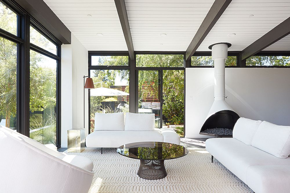 Stanford Mid-Century Modern Remodel Addition by Klopf Architecture