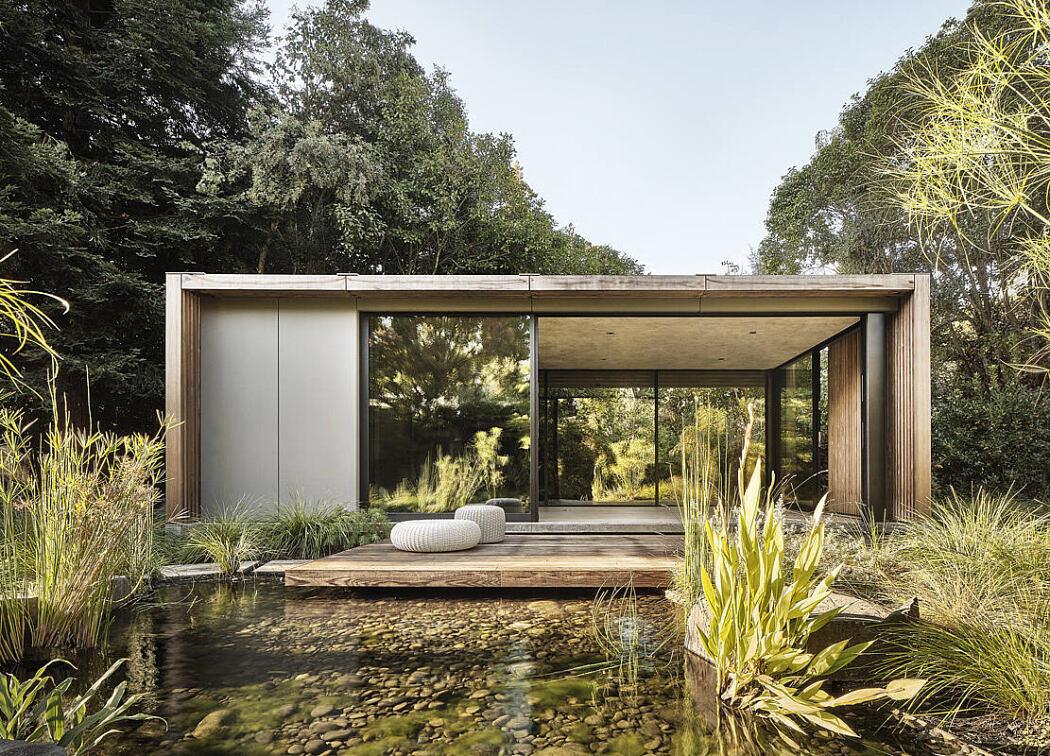 Atherton Pavilions by Feldman Architecture