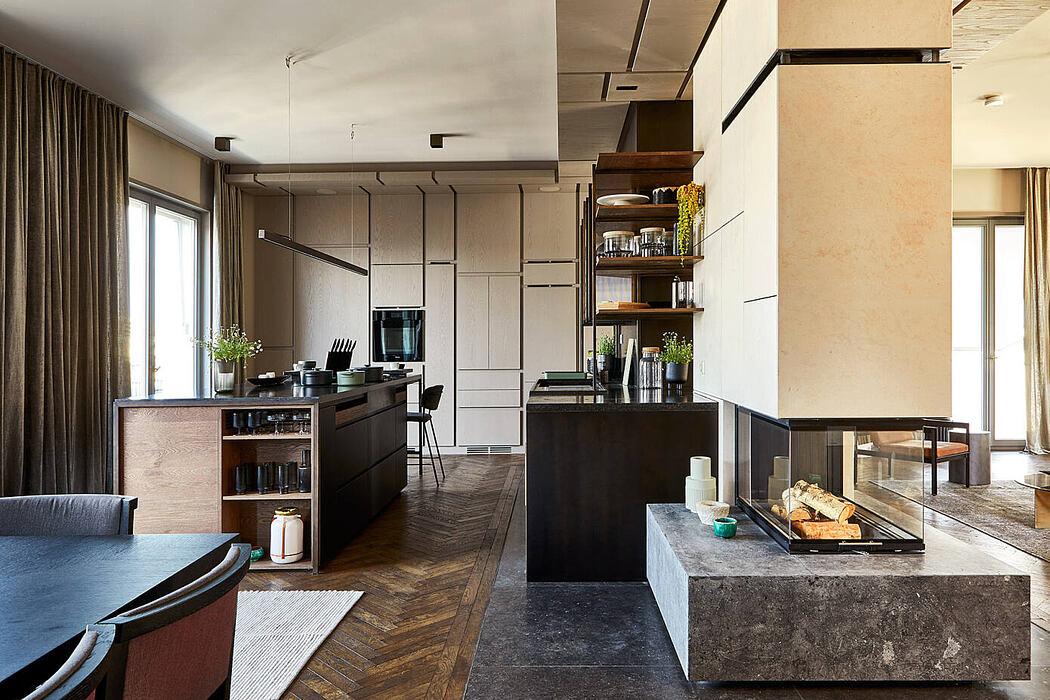 Berlin Penthouse by Studio Novono