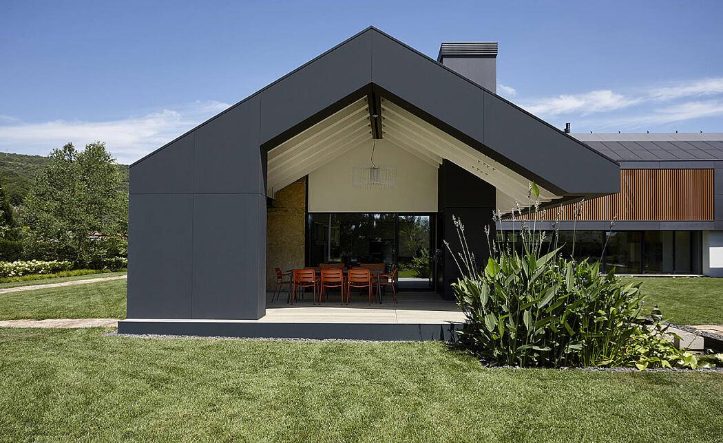 The Grey House by Giorgio Parise