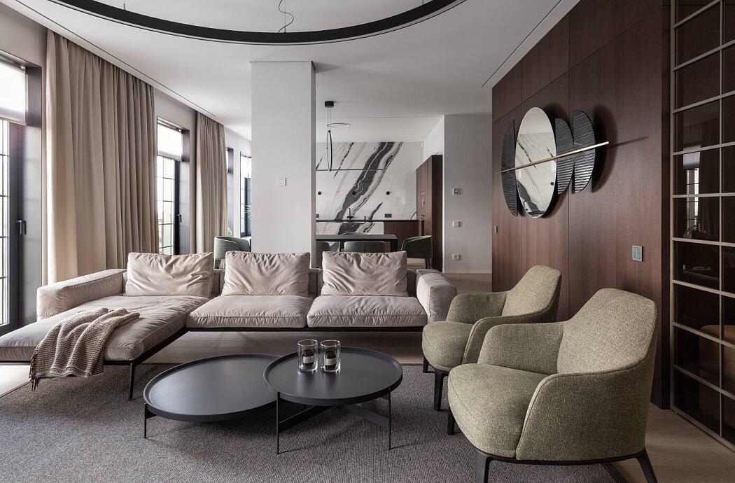 Park Apartment by Svoya Studio