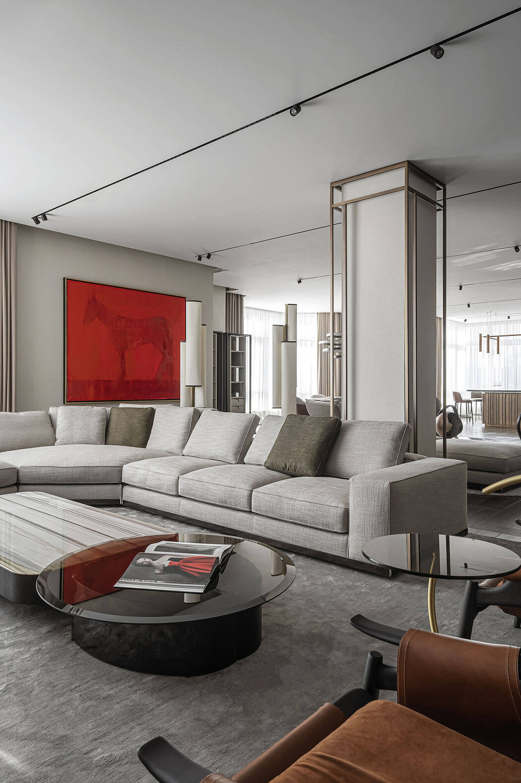 Grand Apartment by Yodezeen Architects