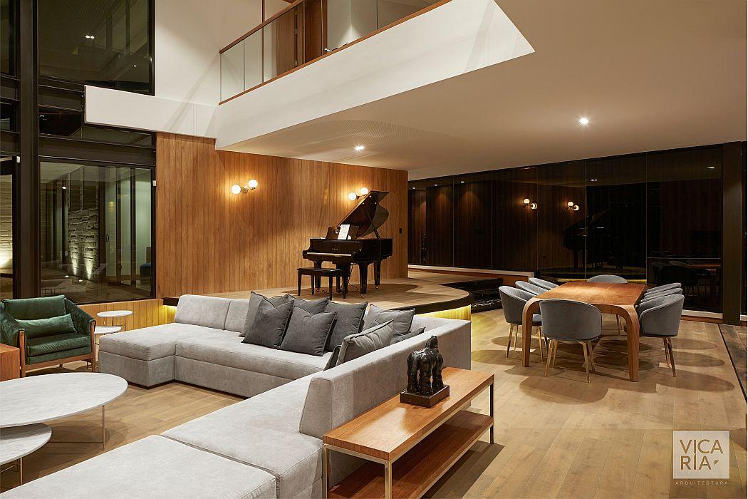 Casa Piano by Vicaría Arquitectura